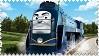 Vinnie the Canadian Engine Stamp by BlueEngineLiz6