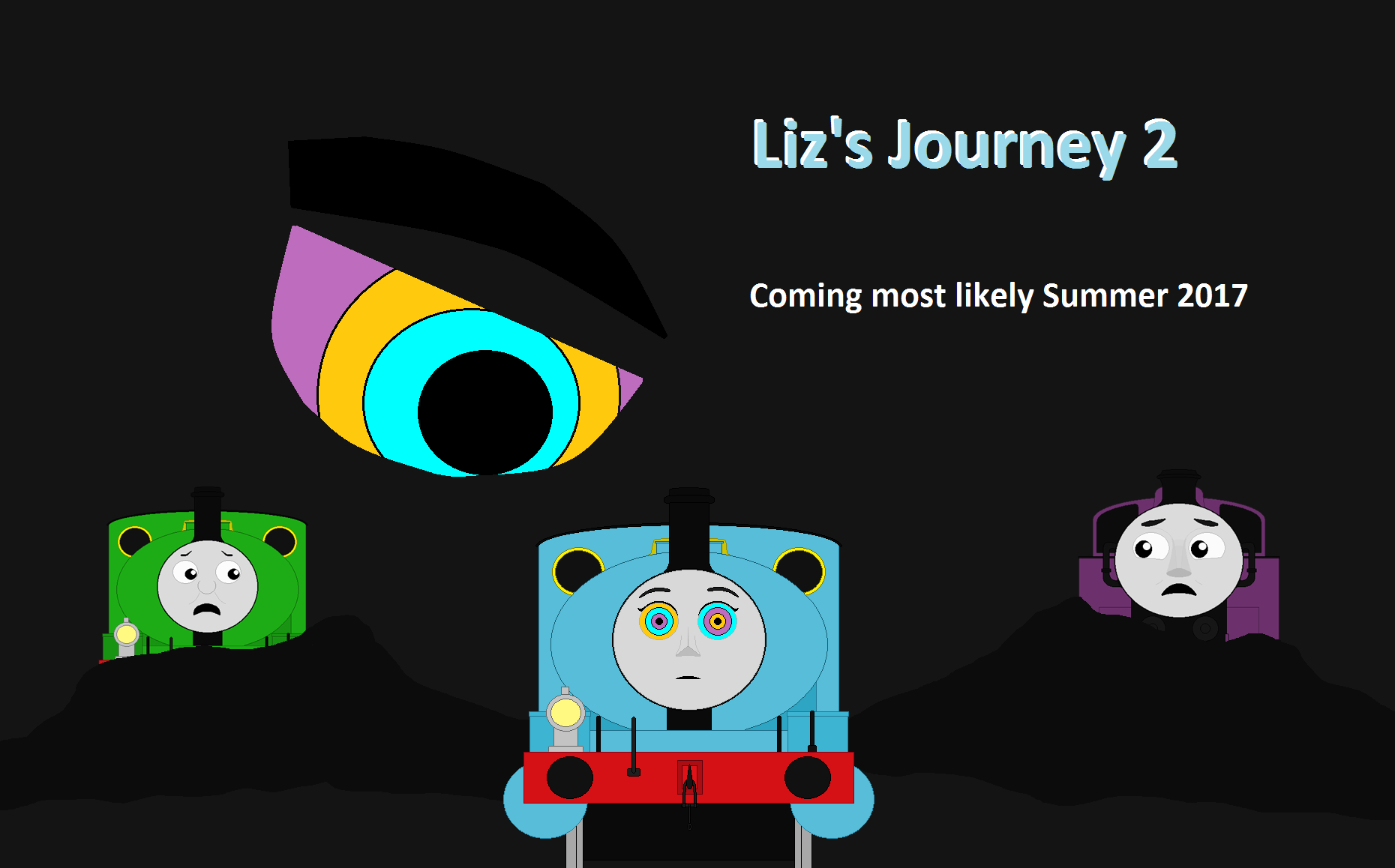 Liz's Journey 2 Teaser Poster by BlueEngineLiz6