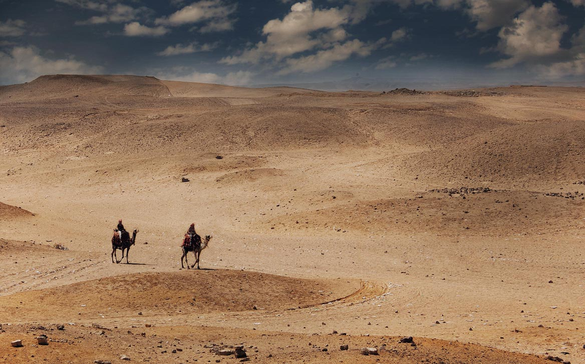 Desert Travel by davidsant