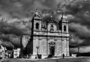 Zebbug Gozo Church II by davidsant