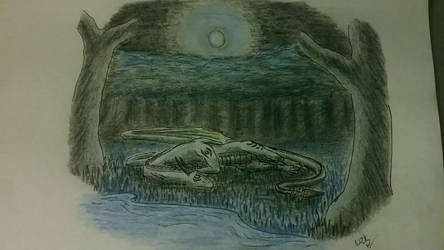 Moonlight Sleep (YCH Auction Winner)