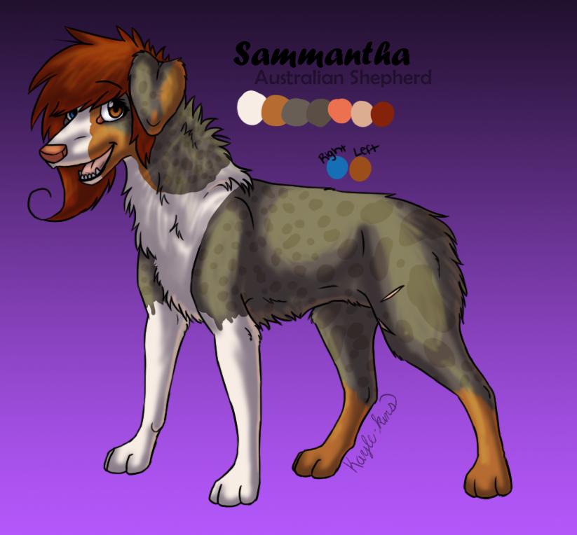 Sammantha Reference by Kayle-kins