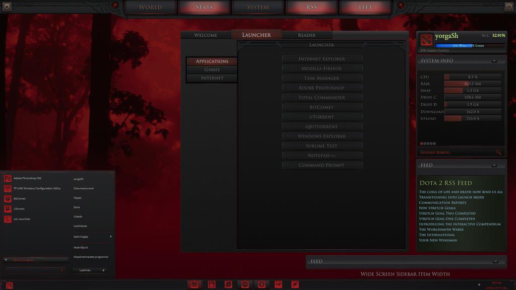 dota 2 desktop pre release by yorgash on deviantart