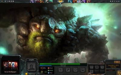 Dota 2 Game GUI RM WIP by yorgash