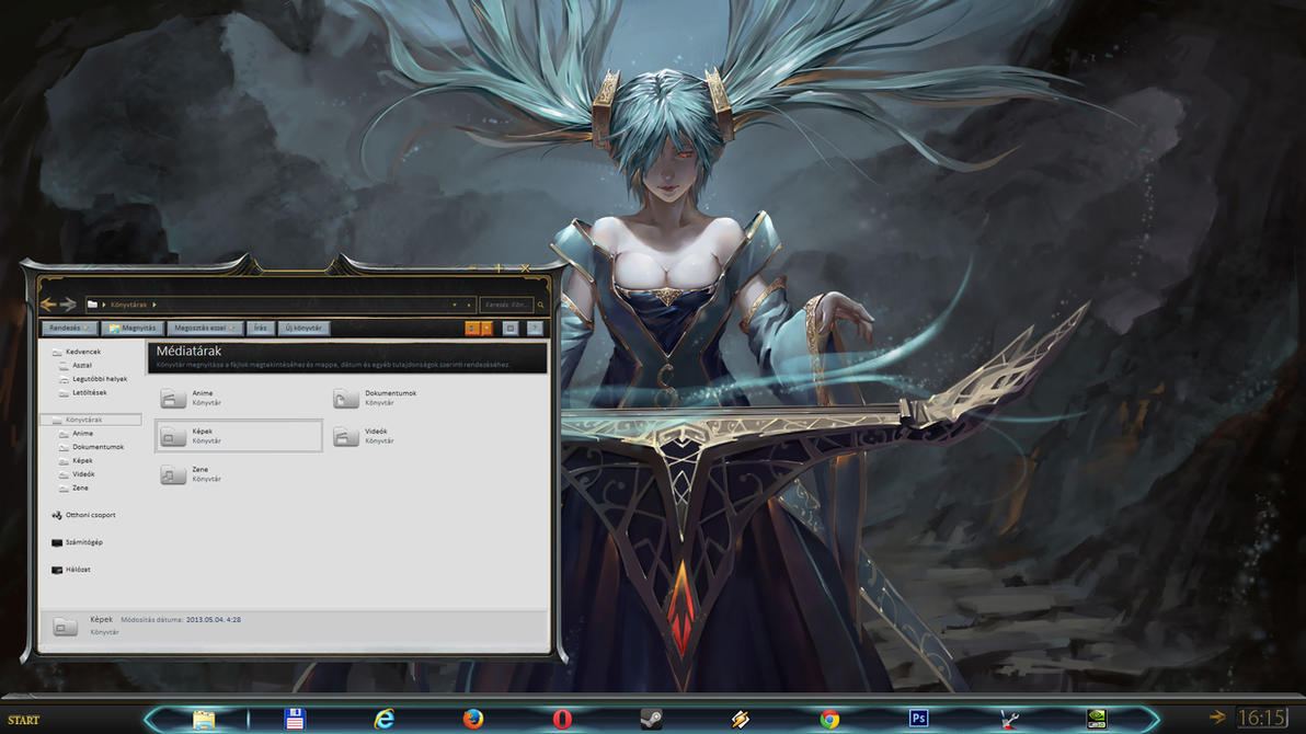 Preview of League of Legends Desktop update by yorgash