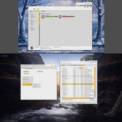 SAO Windows theme progress update