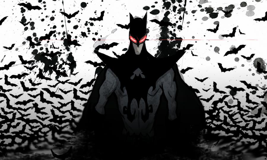 Shanghai Batman by jeffRaging