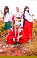 InuYasha: Foursome by JoviClaire