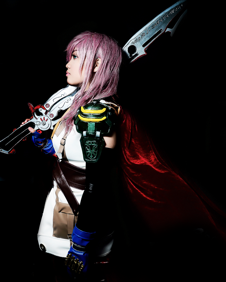 Final Fantasy XIII: Lightning by JoviClaire