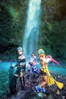 Final Fantasy X-2: YuRiPa by JoviClaire