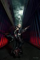 Final Fantasy XV: The Mercenary by JoviClaire
