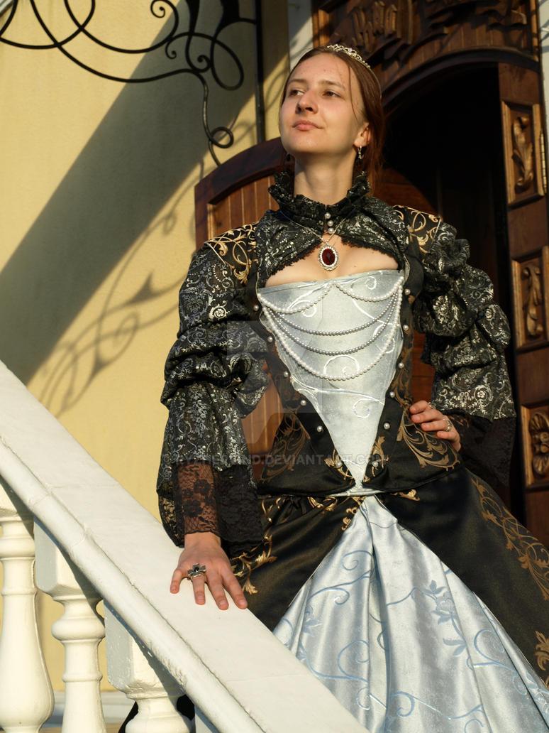 16th century corset,close view by Ryzhervind