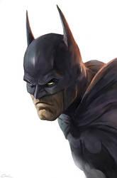 Batman Head by carstenbiernat