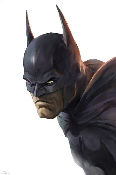 Batman Head by carstenbiernat