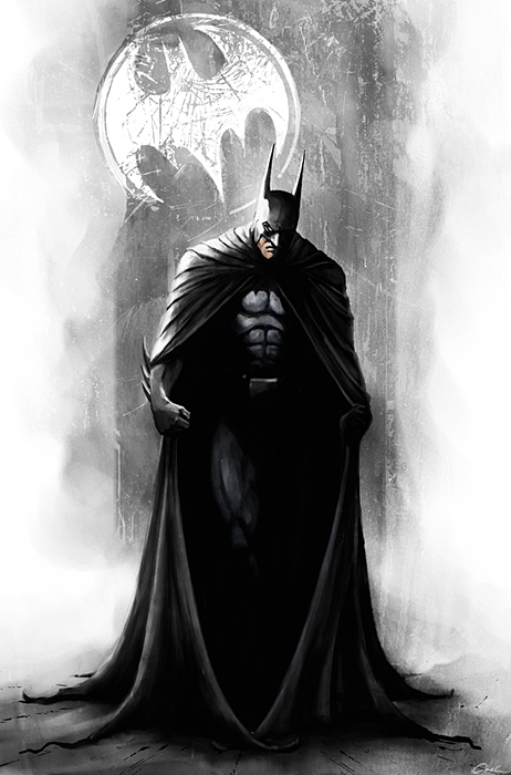 Batman-The Caped Crusader by carstenbiernat