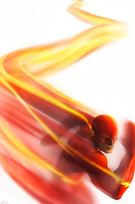 The Flash-Fastest Man Alive by carstenbiernat