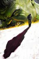 The Hulk vs. Bruce Banner by carstenbiernat