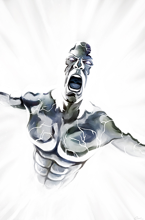 The Silver Surfer-Sacrifice by carstenbiernat