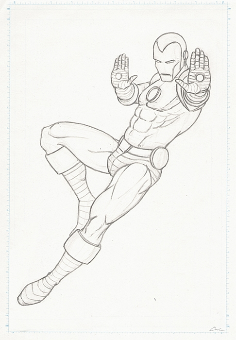 The Avengers Poll-Iron Man Prelim by carstenbiernat