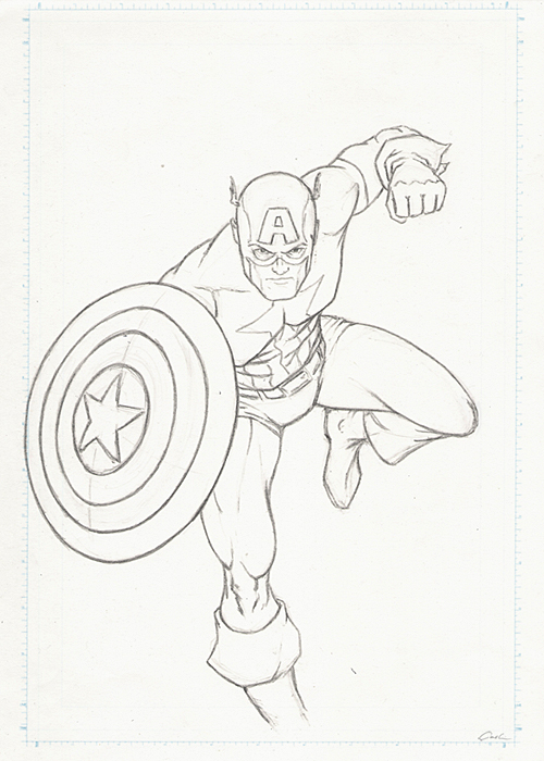 The Avengers Poll-Captain America Prelim by carstenbiernat