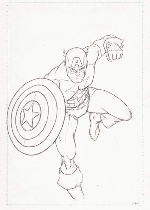 The Avengers Poll-Captain America Prelim by carstenbiernat
