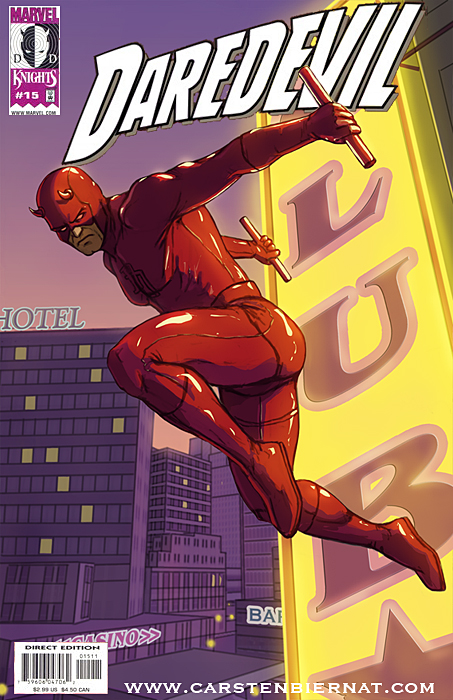 Daredevil Cover by carstenbiernat