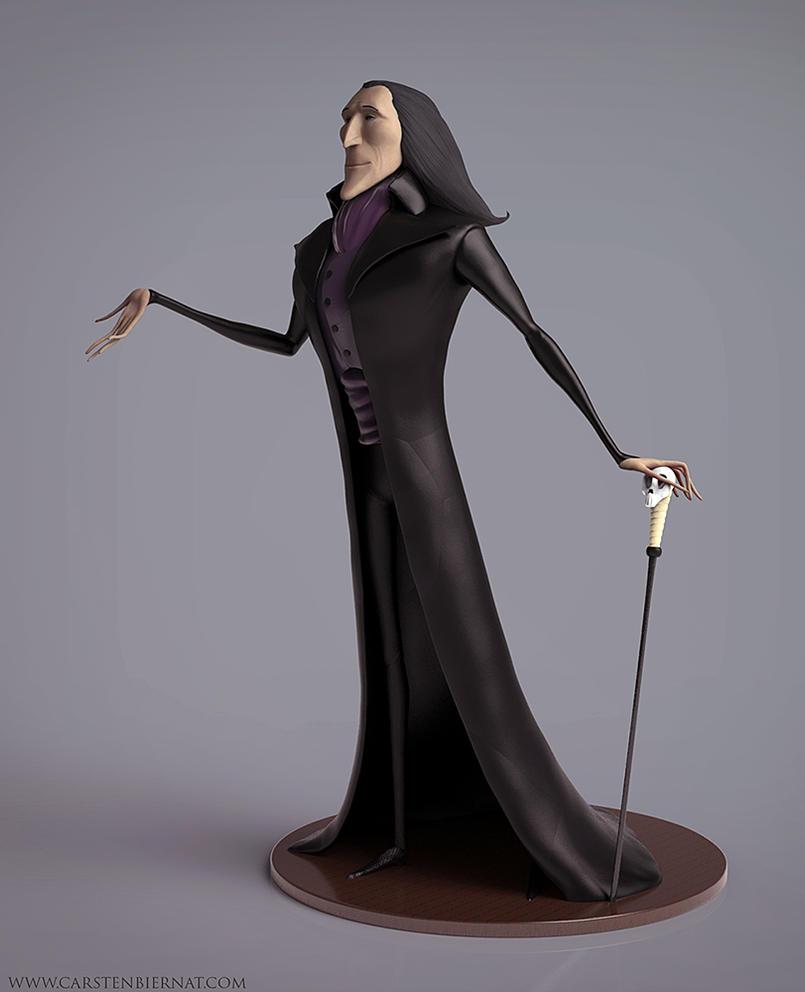 Dracula Concept Sculpt by carstenbiernat