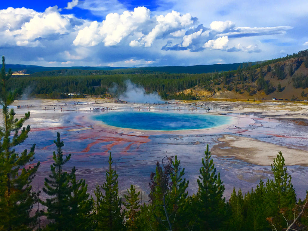Grand Prismatic Spring by SilverShadow2722