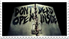 The Walking Dead Stamp by darksoulforver9