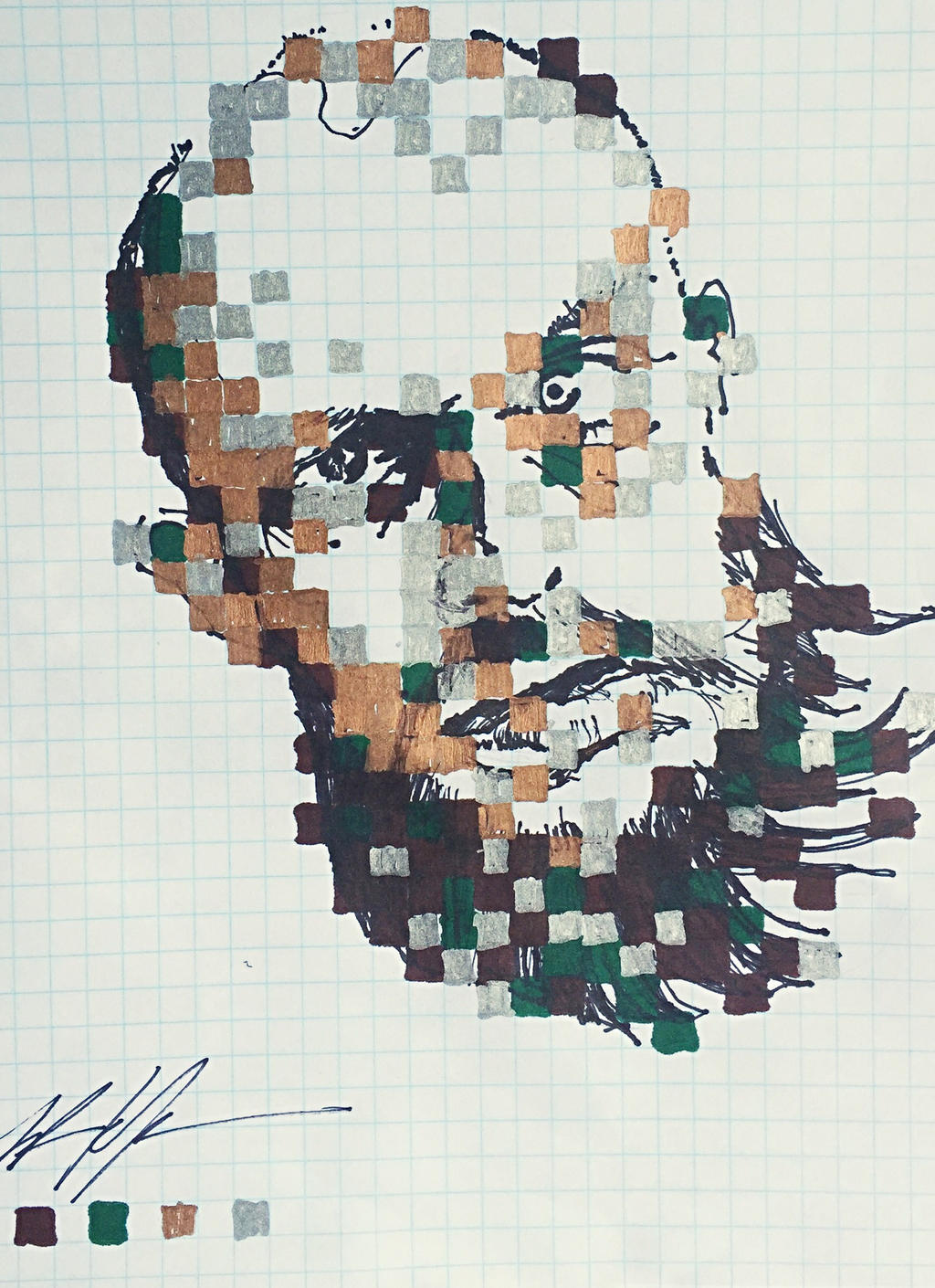experimental portrait by TyStaDye