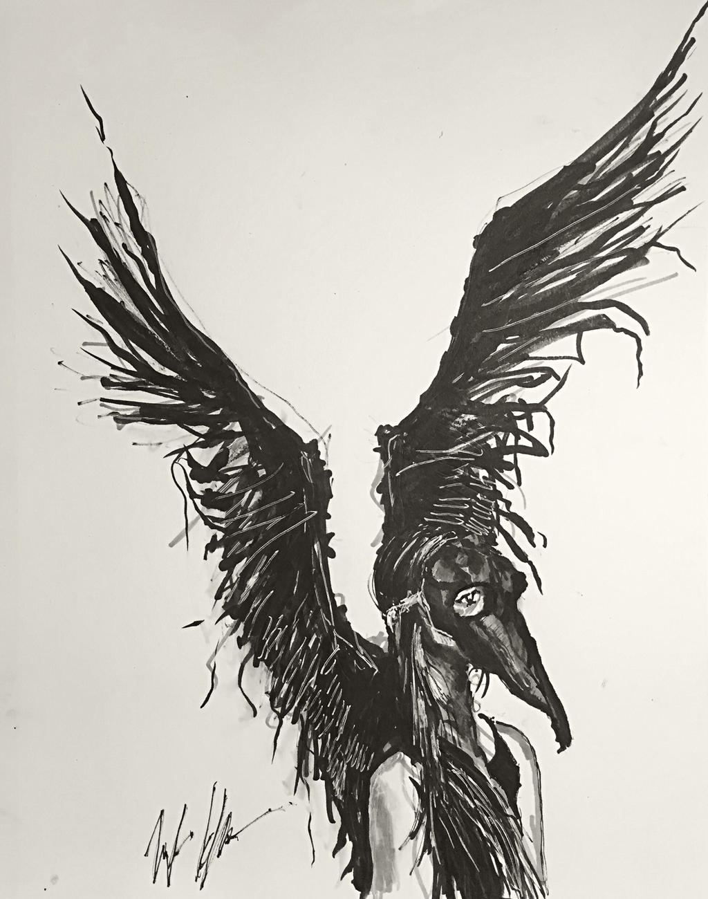 Black Cygnet by TyStaDye