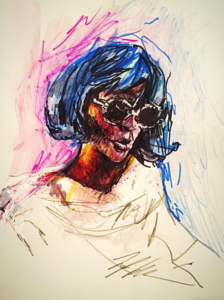 Portrait study (Corrine) by TyStaDye