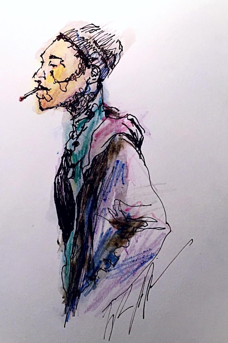 Portrait study(Tor) by TyStaDye