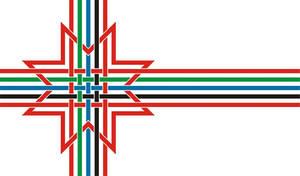 Finno-Ugric flag