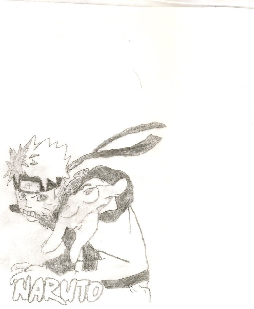 Naruto Box Art Trace by KayCStreet
