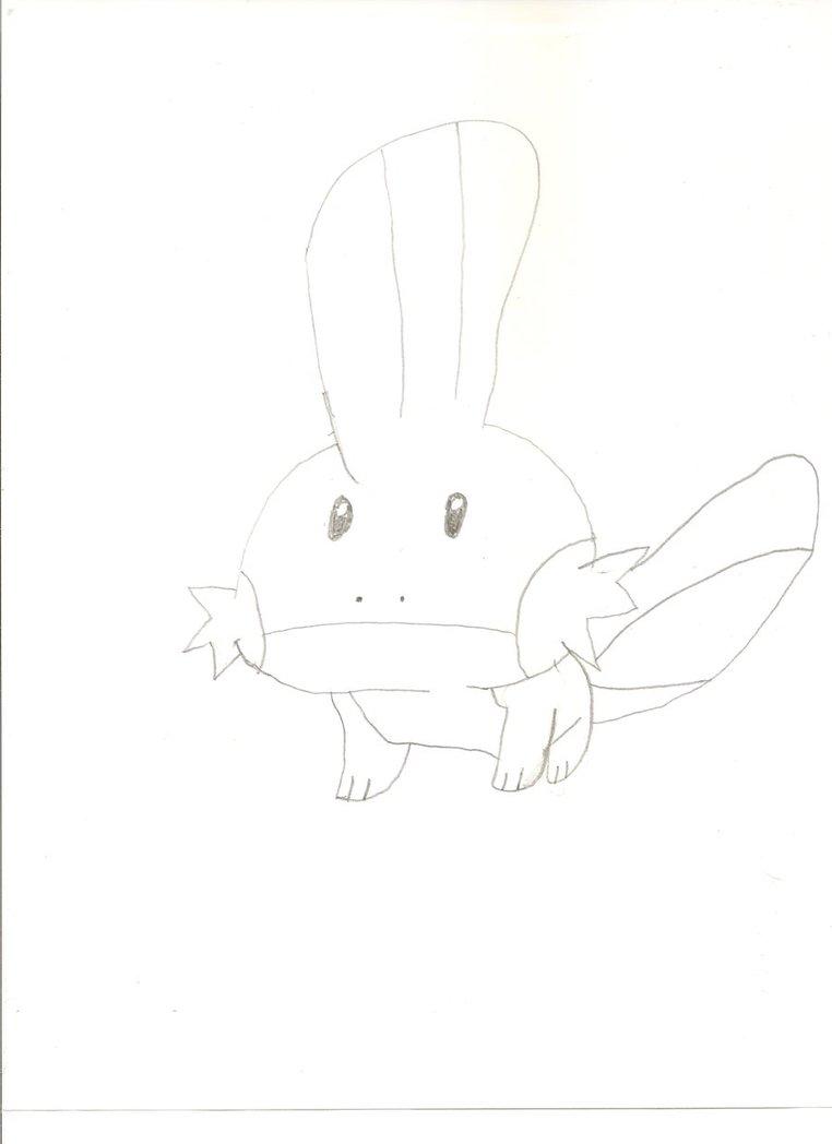 Mudkip Drawing by KayCStreet