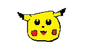MS Paint Pikachu by KayCStreet