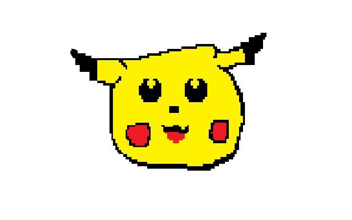 MS Paint Pikachu by KayCStreet