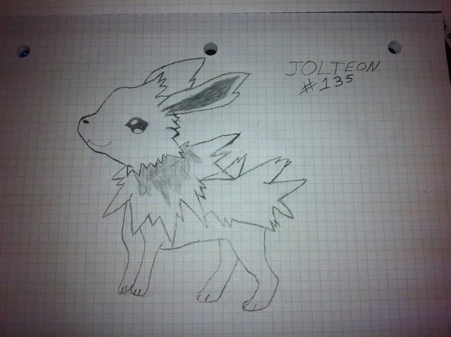 Jolteon 135 by KayCStreet