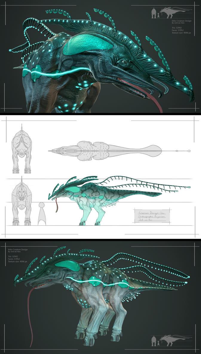 Inho a Creature Design by joldi