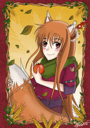 Horo of Spice And Wolf by Annaka-Art
