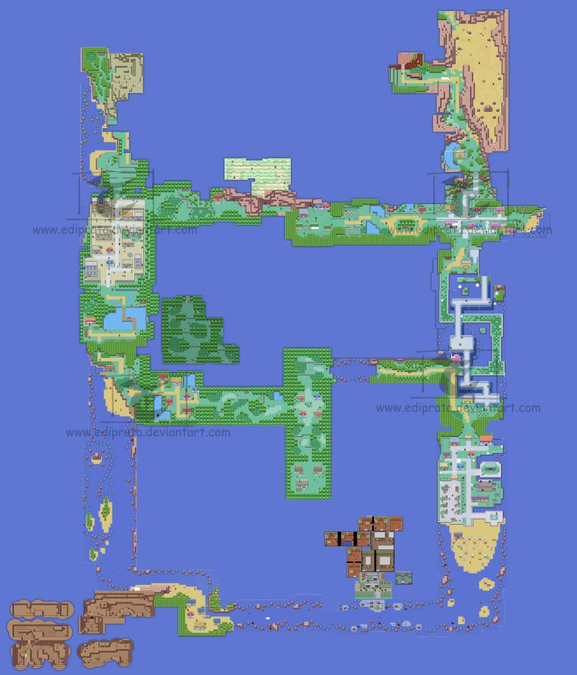 Hoenn Map by ediprata on DeviantArt