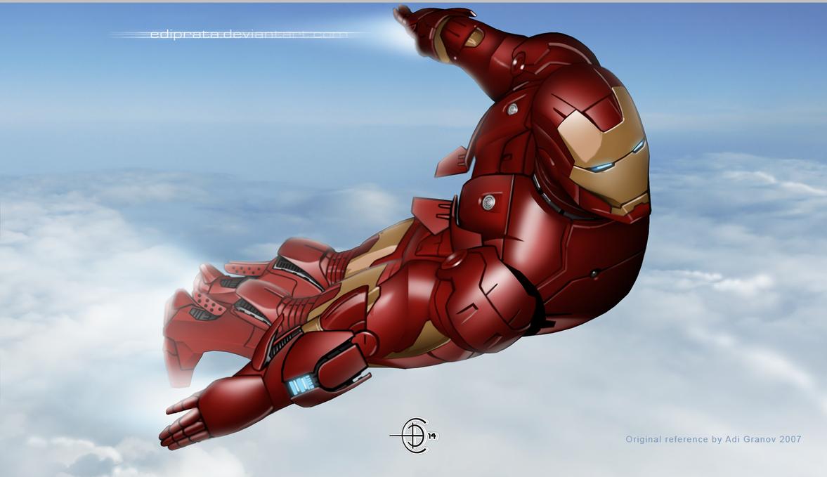 Iron man by ediprata