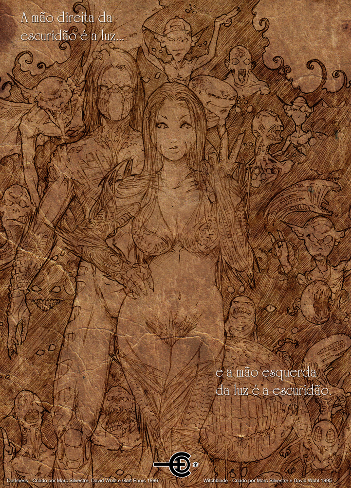 Darkness e Witchblade by ediprata