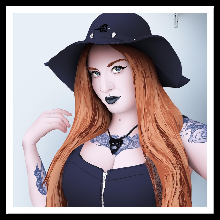 Scarlet Witch by ediprata