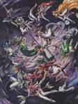 Star guardians fan art. League of Legends