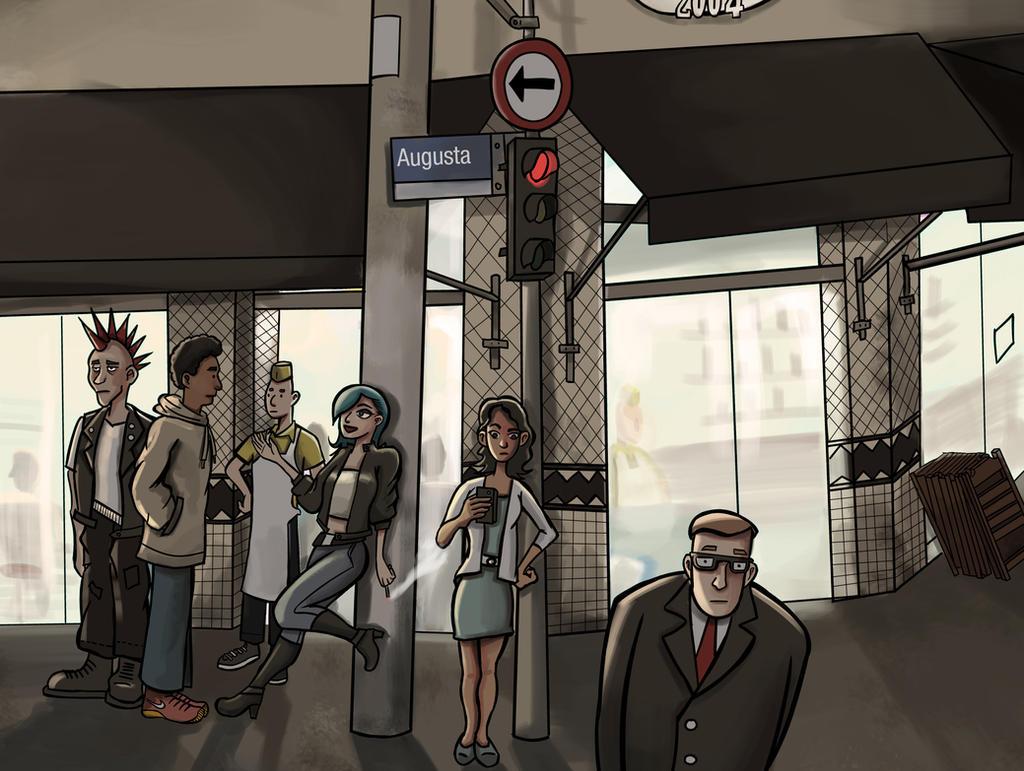 Rua Augusta by Pirika1