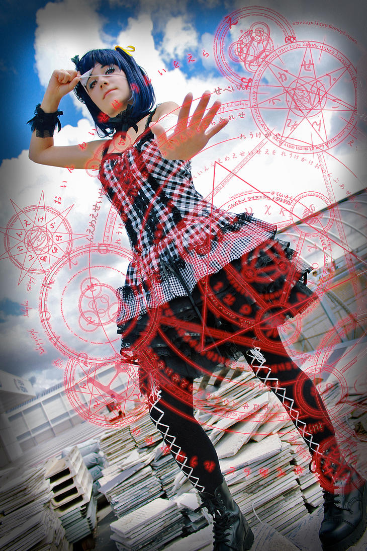Rikka, Banishment this world!! by LaurelinAureo