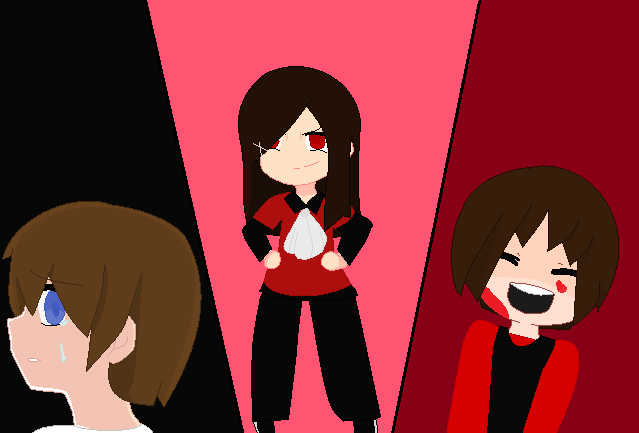 My 3 avatars- Echo, Luz, and Red by LuzWalker101