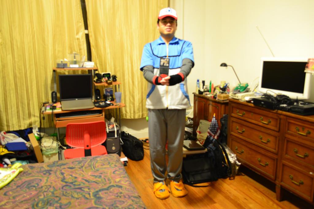 10-31-2014 - Me as Satoshi (Ash Ketchum) BW 4 by latiasfan2004